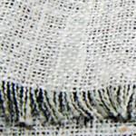 綿シルクの白いツイード