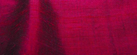 深いエンジ色のシルクシャンタン