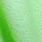 明るい黄緑のシルクコットン